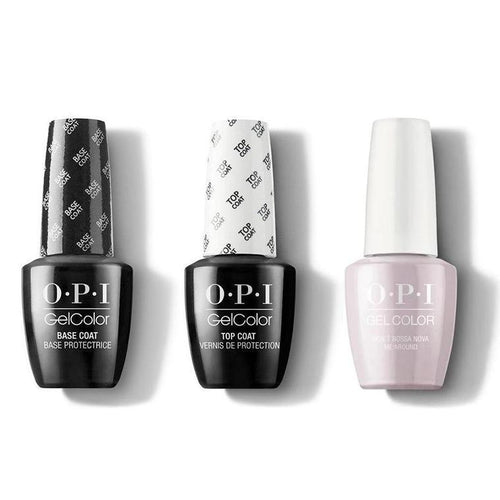OPI - GelColor Combo - Base, Top & Dont Bossa Nova Me Around-Beyond Polish