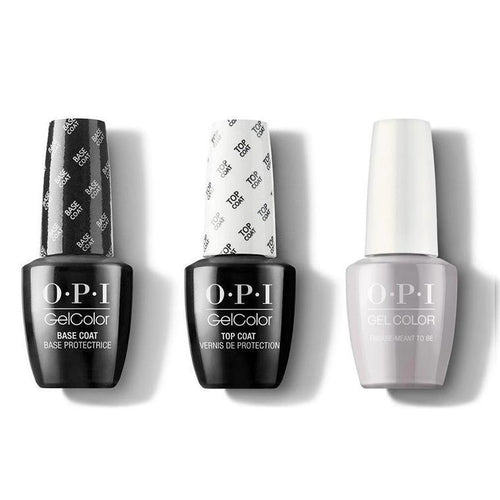 OPI - GelColor Combo - Base, Top & Engage-meant to Be-Beyond Polish