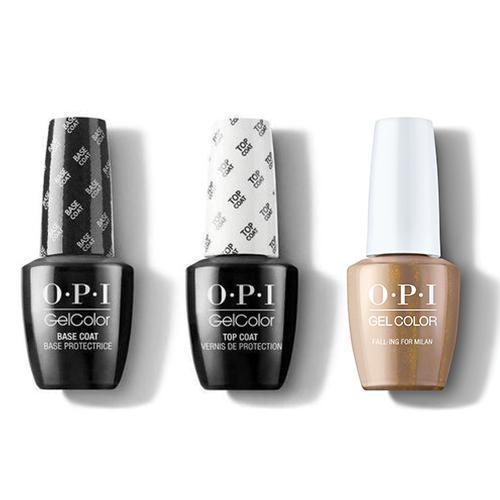 OPI - GelColor Combo - Base, Top & Fall-ing For Milan-Beyond Polish