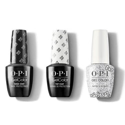 OPI - GelColor Combo - Base, Top & Glitter To My Heart-Beyond Polish