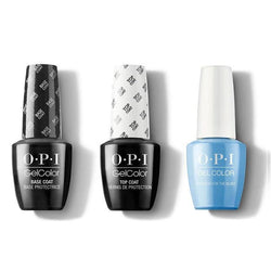 OPI - GelColor Combo - Base, Top & No Room For the Blues-Beyond Polish
