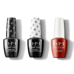 OPI - GelColor Combo - Base, Top & Now Museum, Now You Dont-Beyond Polish
