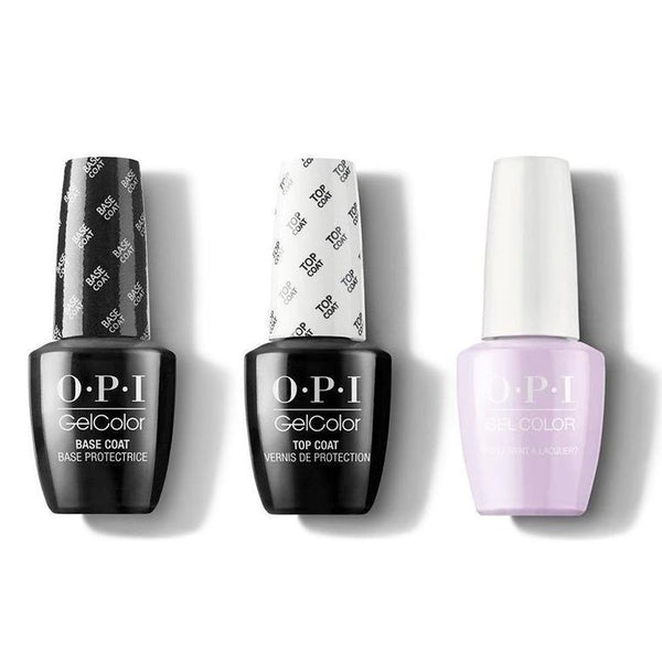 OPI - GelColor Combo - Base, Top & Polly Want a Lacquer?-Beyond Polish