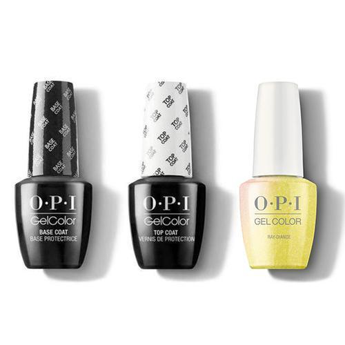 OPI - GelColor Combo - Base, Top & Ray-diance-Beyond Polish