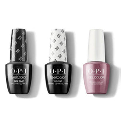 OPI - GelColor Combo - Base, Top & Reykjavik Has All the Hot Spots-Beyond Polish