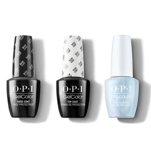 OPI - GelColor Combo - Base, Top & This Color Hits All The High Notes-Beyond Polish