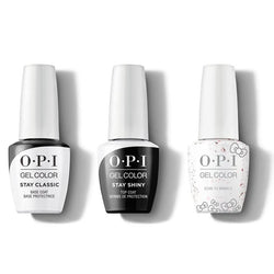 OPI - GelColor Combo - Stay Classic Base, Shiny Top & Born To Sparkle-Beyond Polish
