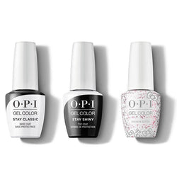 OPI - GelColor Combo - Stay Classic Base, Shiny Top & Dream In Glitter-Beyond Polish