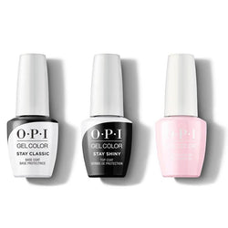 OPI - GelColor Combo - Stay Classic Base, Shiny Top & Getting Nadi On My Honeymoon-Beyond Polish