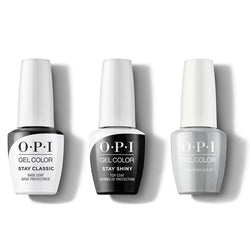 OPI - GelColor Combo - Stay Classic Base, Shiny Top & I Can Never Hut Up-Beyond Polish