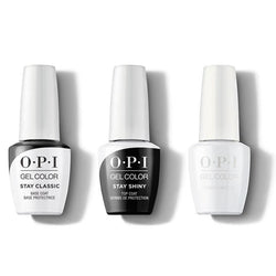 OPI - GelColor Combo - Stay Classic Base, Shiny Top & I Cannoli Wear OPI-Beyond Polish