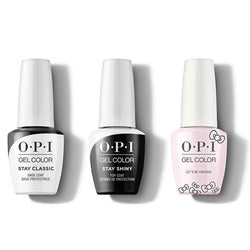 OPI - GelColor Combo - Stay Classic Base, Shiny Top & Let's Be Friends!-Beyond Polish