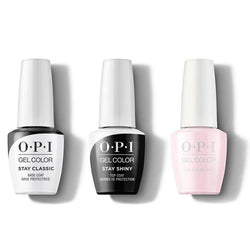 OPI - GelColor Combo - Stay Classic Base, Shiny Top & Love Is In The Bare-Beyond Polish