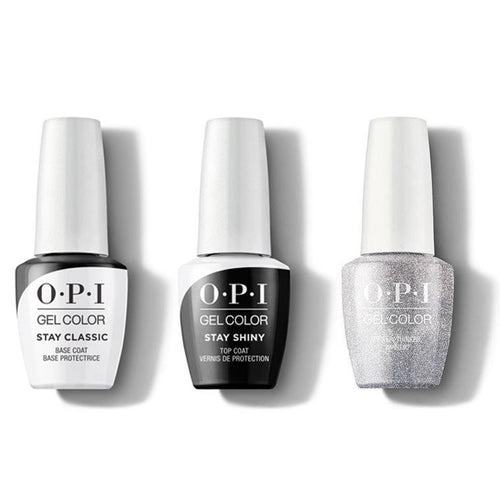 OPI - GelColor Combo - Stay Classic Base, Shiny Top & Tinker, Thinker, Winker?-Beyond Polish