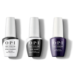 OPI - GelColor Combo - Stay Classic Base, Shiny Top & Turn On the Northern Lights!-Beyond Polish
