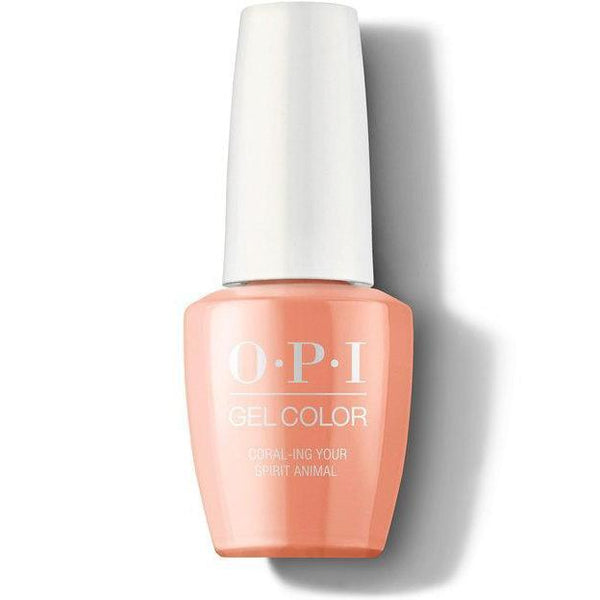 OPI GelColor - Coral-ing Your Spirit Animal 0.5 oz - #GCM88-Beyond Polish
