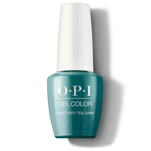 OPI GelColor - Dance Party 'Teal Dawn 0.5 oz - #GCN74-Beyond Polish
