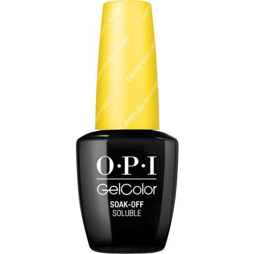OPI GelColor- Exotic Birds Do Not Tweet 0.5 oz - #GCF91 (Original Bottle Design)-Beyond Polish