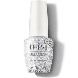 OPI GelColor - Glitter To My Heart 0.5 oz - #HPL01-Beyond Polish