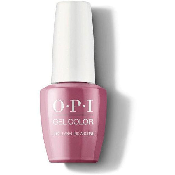 OPI GelColor - Just Lanai-ing Around 0.5 oz - #GCH72-Beyond Polish