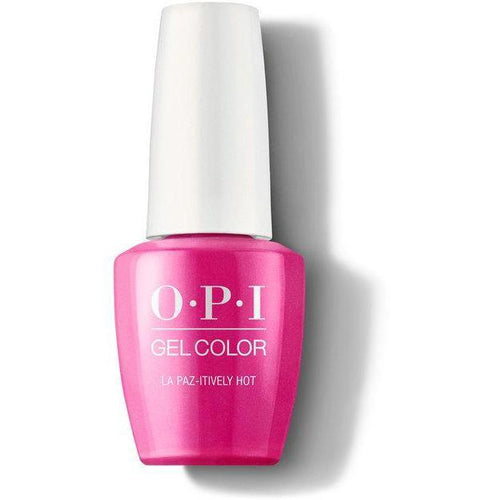 OPI GelColor - La Paz-itively Hot 0.5 oz - #GCA20-Beyond Polish