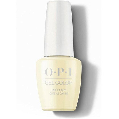 OPI GelColor - Meet A Boy Cute As Can Be 0.5 oz - #GCG42-Beyond Polish