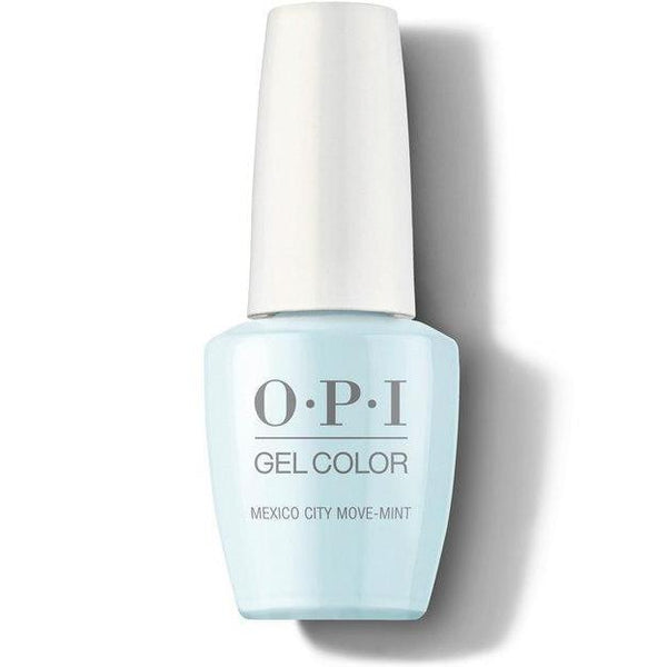 OPI GelColor - Mexico City Move-mint 0.5 oz - #GCM83-Beyond Polish