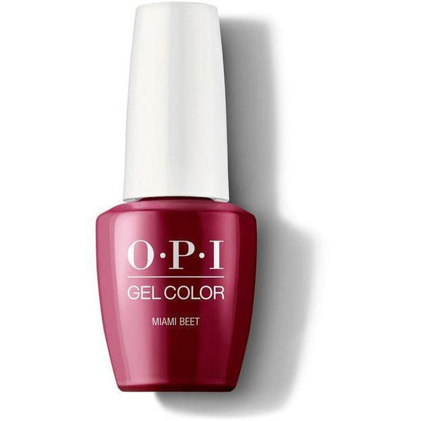 OPI GelColor - Miami Beet 0.5 oz - #GCB78-Beyond Polish