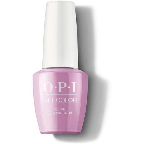 OPI GelColor - Suzi Will Quechua Later! 0.5 oz - #GCP31-Beyond Polish