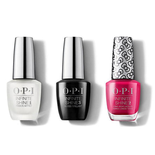 OPI - Infinite Shine Combo - Base, Top & All About The Bows - #HRL35-Beyond Polish