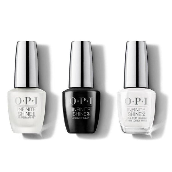 OPI - Infinite Shine Combo - Base, Top & Alpine Snow - #ISLL00-Beyond Polish