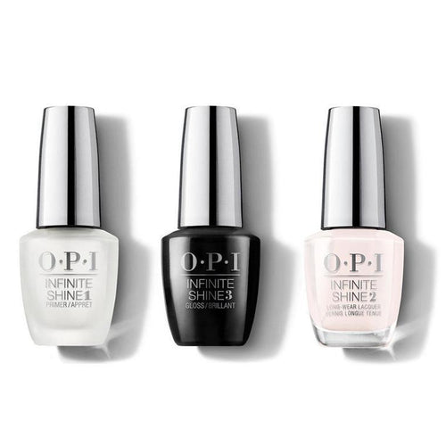 OPI - Infinite Shine Combo - Base, Top & Beyond the Pale Pink - #ISL35-Beyond Polish