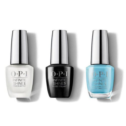 OPI - Infinite Shine Combo - Base, Top & Can't Find My Czechbook - #ISLE75-Beyond Polish