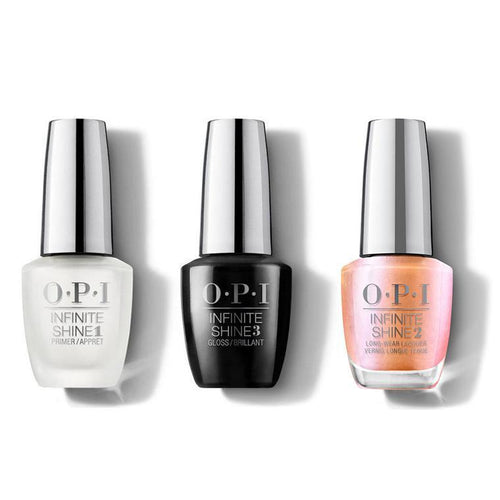 OPI - Infinite Shine Combo - Base, Top & Coral Chroma - #ISLSR1-Beyond Polish