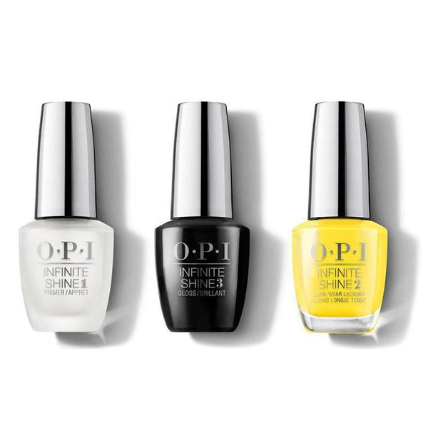 OPI - Infinite Shine Combo - Base, Top & Exotic Birds Do Not Tweet - #ISLF91-Beyond Polish