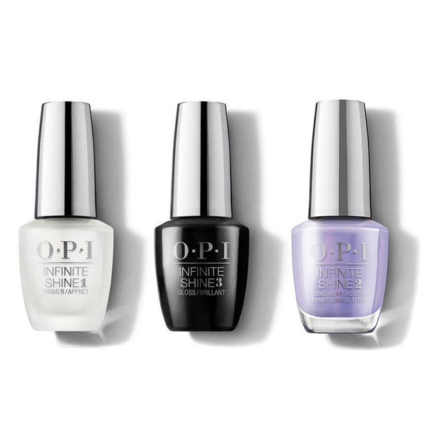 OPI - Infinite Shine Combo - Base, Top & Galleria Vittorio Violet - #ISLMI09-Beyond Polish