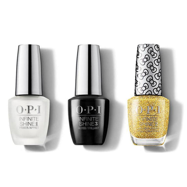OPI - Infinite Shine Combo - Base, Top & Glitter All The Way - #HRL43-Beyond Polish