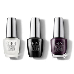 OPI - Infinite Shine Combo - Base, Top & Good Girls Gone Plaid - #ISLU16-Beyond Polish