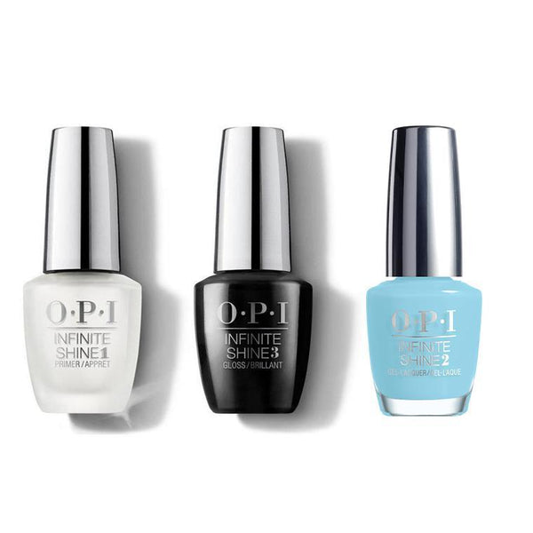 OPI - Infinite Shine Combo - Base, Top & I Believe In Manicures - #HRH44-Beyond Polish