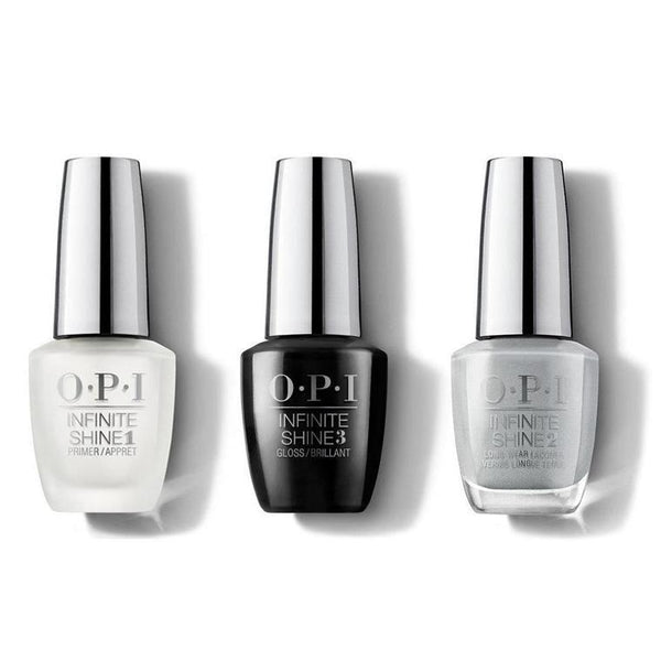 OPI - Infinite Shine Combo - Base, Top & I Can Never Hut Up - #ISLF86-Beyond Polish