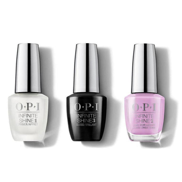 OPI - Infinite Shine Combo - Base, Top & Lavendare To Find Courage 0.5 oz - #ISHRK22-Beyond Polish