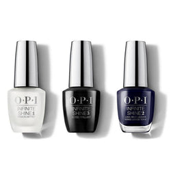 OPI - Infinite Shine Combo - Base, Top & March In Uniform 0.5 oz - #ISHRK19-Beyond Polish
