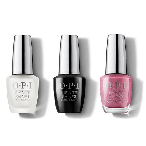OPI - Infinite Shine Combo - Base, Top & Not So Bora-Bora-ing Pink - #ISLS45-Beyond Polish