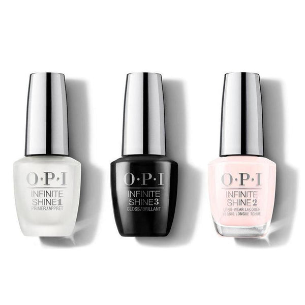 OPI - Infinite Shine Combo - Base, Top & Pretty Pink Perseveres - #ISL01-Beyond Polish