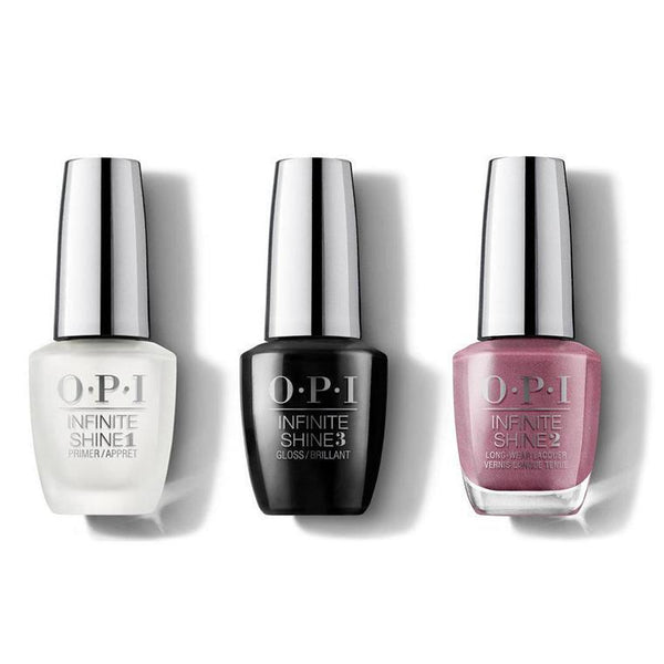 OPI - Infinite Shine Combo - Base, Top & Reykjavik Has All the Hot Spots - #ISLI63-Beyond Polish