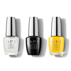 OPI - Infinite Shine Combo - Base, Top & Sun, Sea, and Sand in My Pants 0.5 oz - #ISLL23-Beyond Polish