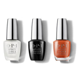 OPI - Infinite Shine Combo - Base, Top & Suzi Needs a Loch-smith - #ISLU14-Beyond Polish
