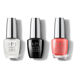 OPI - Infinite Shine Combo - Base, Top & Tempura-ture is Rising! - #ISLT89-Beyond Polish