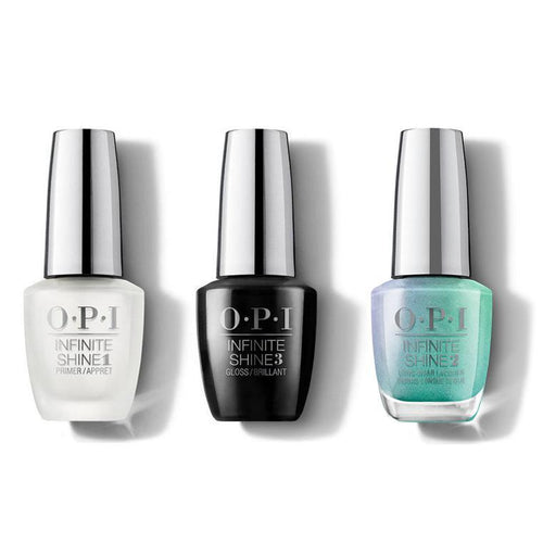OPI - Infinite Shine Combo - Base, Top & Your Lime to Shine - #ISLSR3-Beyond Polish