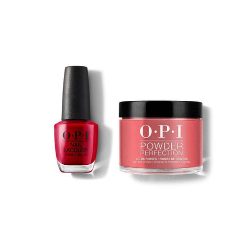 OPI - Lacquer & Dip Combo - Color So Hot It Berns-Beyond Polish